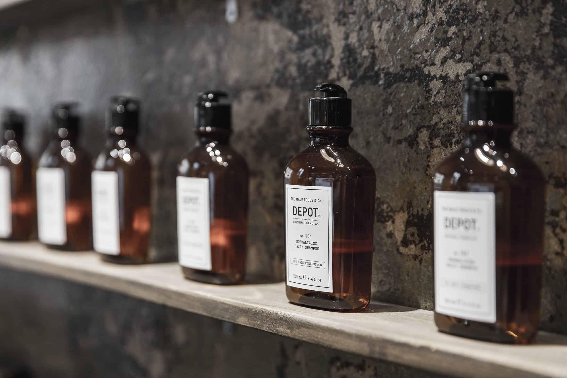 DEPOT normalizing daily shampoo
